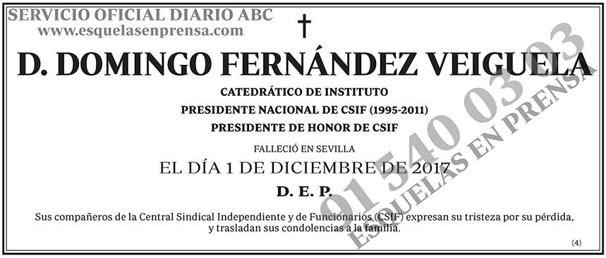 Domingo Fernández Veiguela